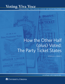 How the Other Half (plus) Voted: The Party Ticket States