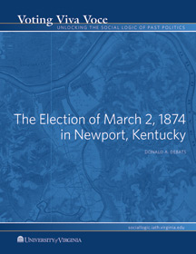 The Election of May 26, 1859 in Alexandria, Virginia