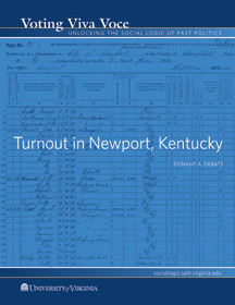 Turnout in Newport, Kentucky