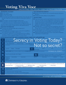 Secrecy in Voting Today